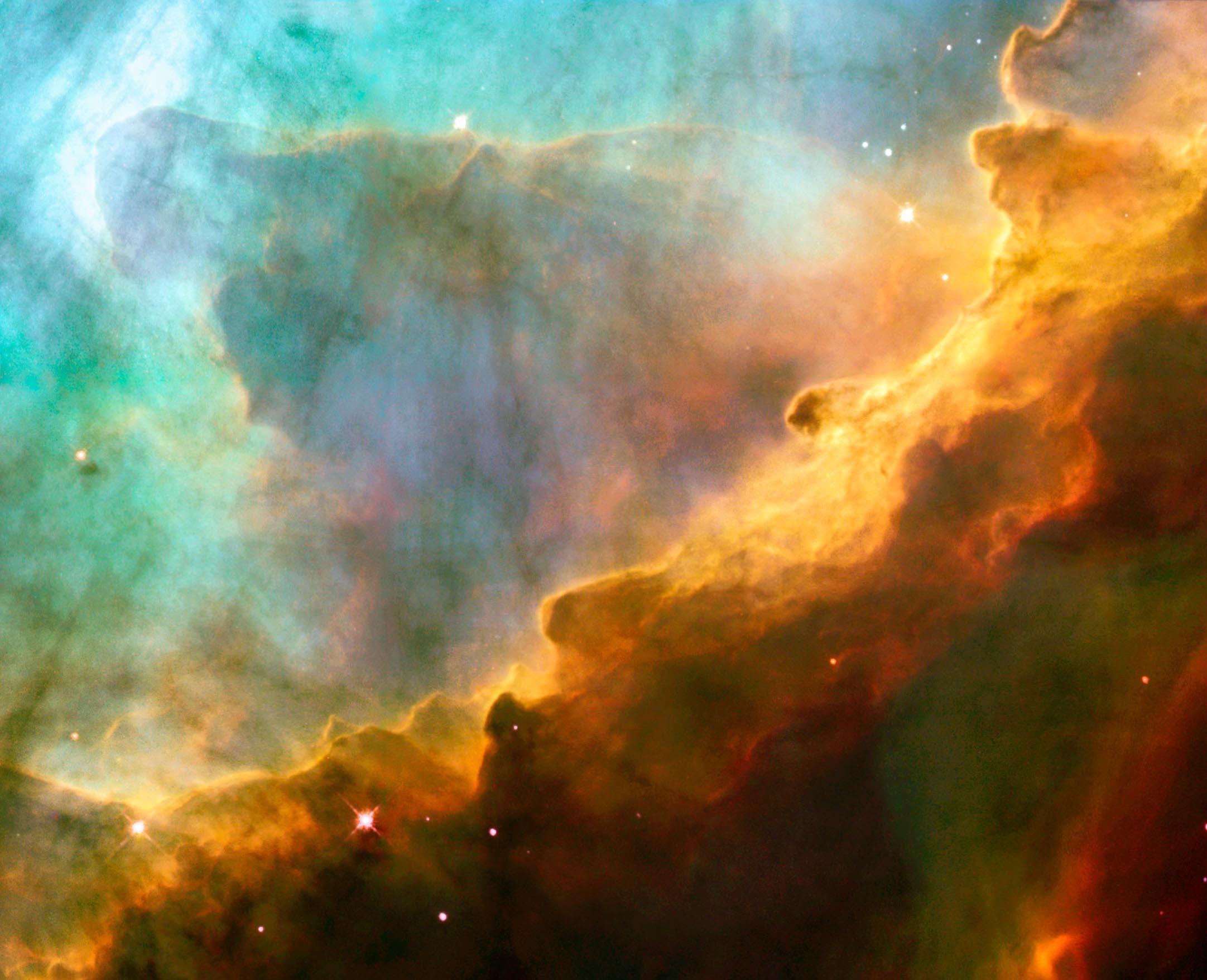 Nebulosa Ômega (Foto: NASA)