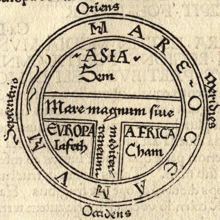 """Mapa do tipo """"T e O"""" (Foto: Reprodução)"""