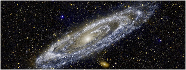 via láctea já está em colisão com a galáxia de andrômeda