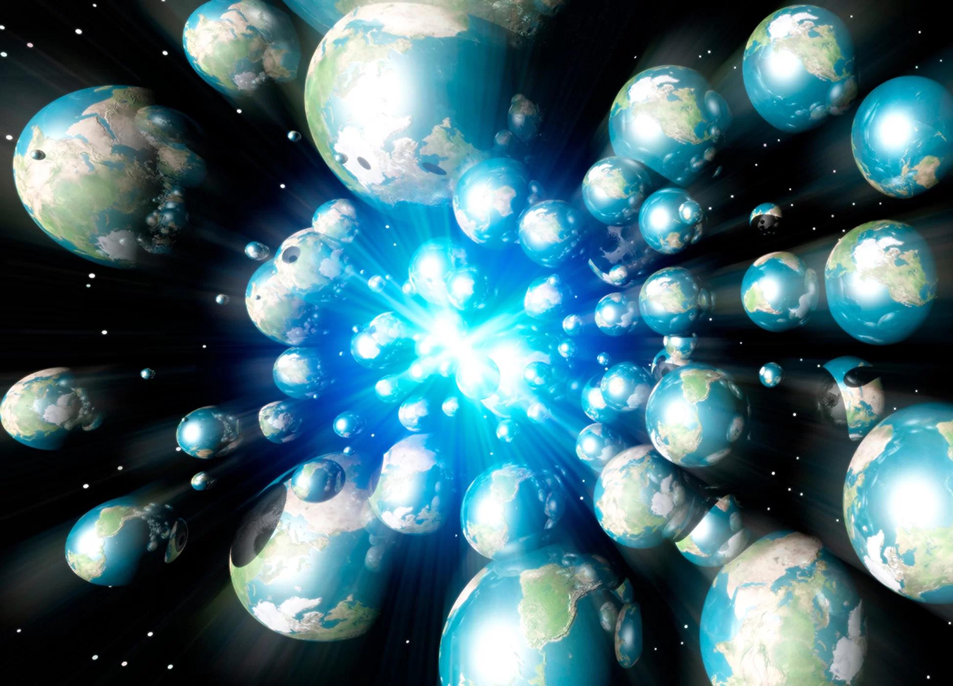 Se vivemos em um multiverso onde se escondem esses mundos for Universo del hogar