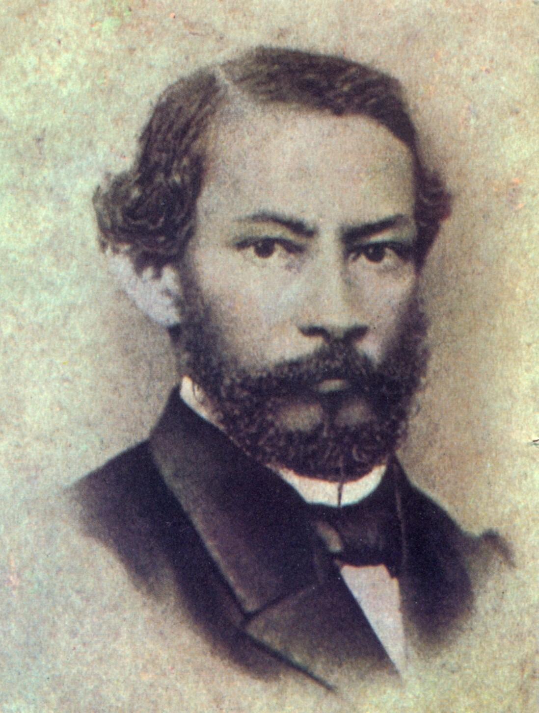 O escritor Gonçalves Dias (Foto: Domínio público/Creative Commons)