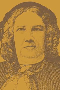 A escritora Nísia Floresta (Foto: Acervo da Biblioteca Nacional/Wikimedia Commons)