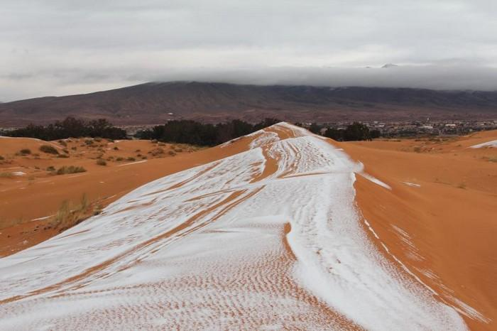 Neve no deserto do Sahara (7)