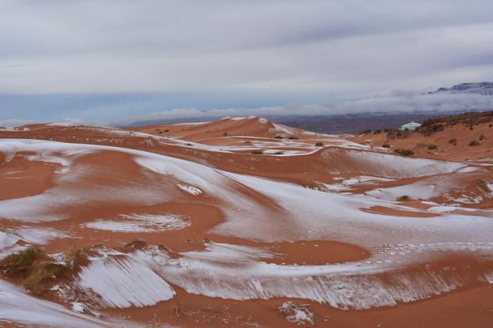 Neve no deserto do Sahara (5)