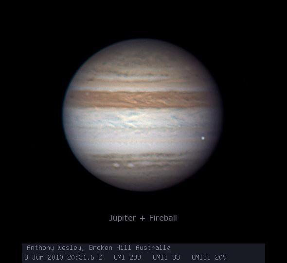 Impacto em Júpiter em 2010