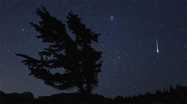Meteoro esporádico em Utah, nos EUA - NASA - Bill Dunford