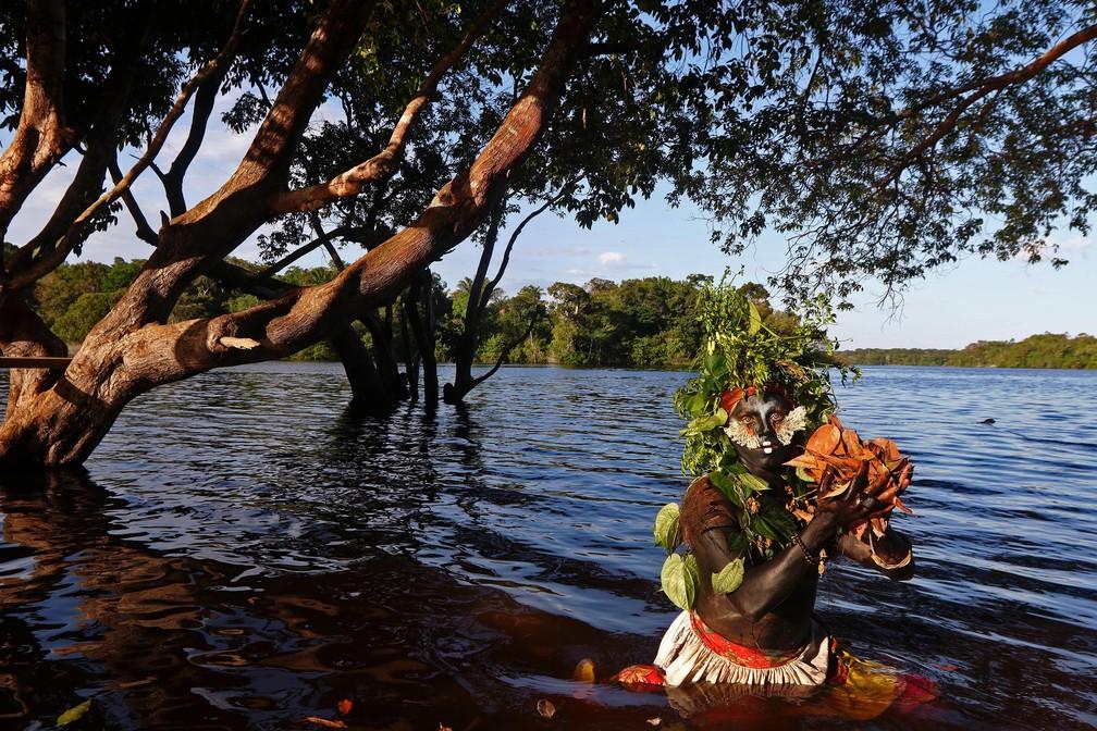 Emerson nasceu em uma pequena cidade no Pará — Foto: Ricardo Oliveira/AFP