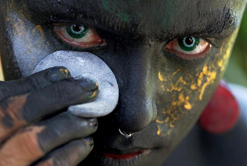 Personagem foi criado em 2016, contou à AFP — Foto: Ricardo Oliveira/AFP